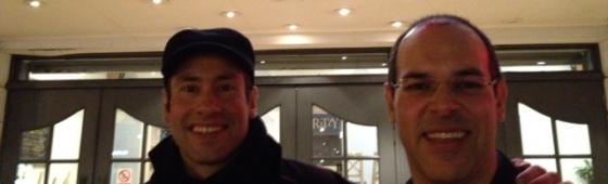 Harold and David Chapman attend the London Short Film Festival