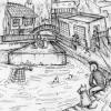 """Camden Lock"" in the Arbuturian"
