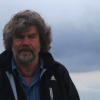Harold Chapman returns from trip to interview and film the legendary Reinhold Messner