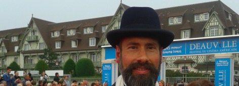 Harold Chapman at the 40th American Film Festival of Deauville, Normandy