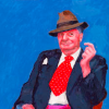 "Review of Hockney's, ""82 Portraits and 1 Still Life"" in the Arbuturian"