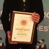 "Harry Chapman picks up the ""Golden Maple"" at Jahorina Film Festival"