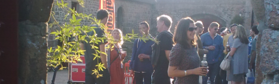Harold Chapman at Branchage Film Festival, Jersey
