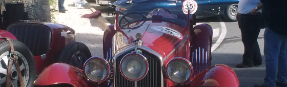 Harold Chapman invited to cover the Maltese Classic Car Grand Prix