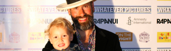 Harold Chapman at the Isle of Wight Film Festival 2014